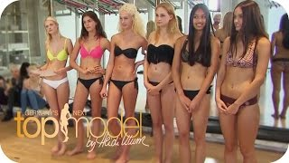 Das Casting: Sexy und Schweißtreibend | Germany's next Topmodel 2015 | ProSieben