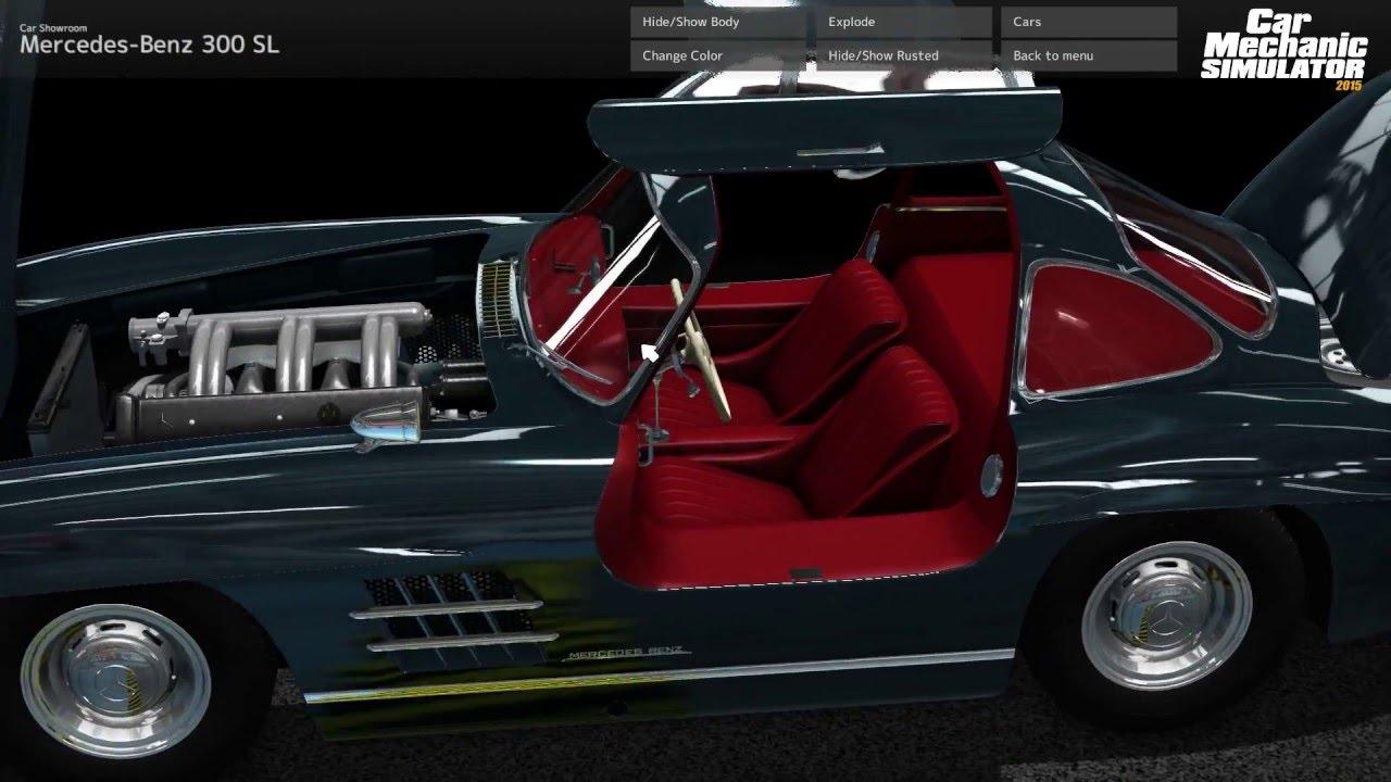 Car mechanic simulator 2015 mercedes benz dlc youtube for Mercedes benz mechanic