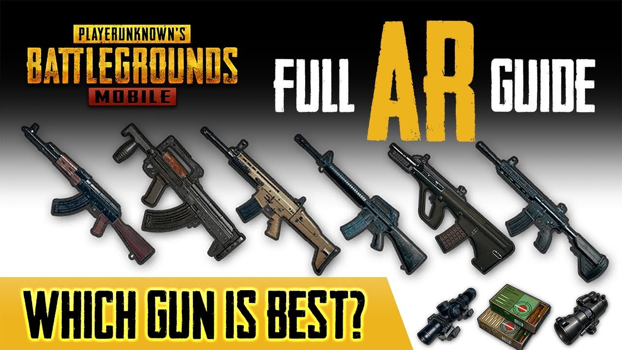 Best Assault Rifle In Pubg Mobile Here S The Data Youtube