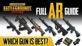 BEST ASSAULT RIFLE IN PUBG MOBILE? HERE'S THE DATA!