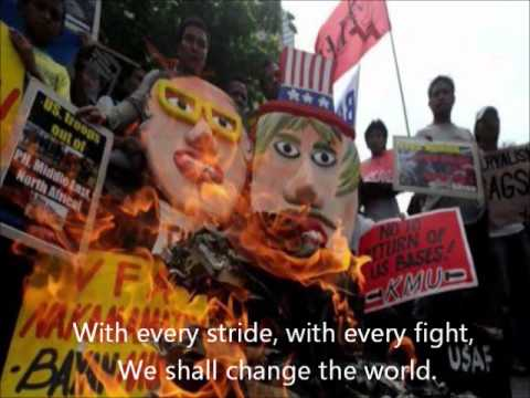 International League of Peoples' Struggle (ILPS) Anthem (wit