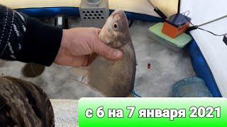 Зимняя рыбалка на Иваньковском водохранилище шлагбаум