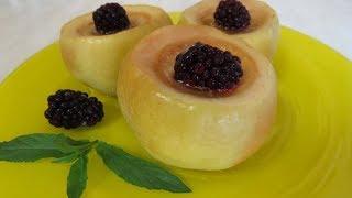 Яблоки БЕЗ ДУХОВКИ Печёные. Восхитительно Вкусно, просто и Полезно!