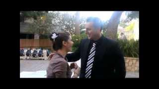 surprise proposal at akiva israel trip so touching