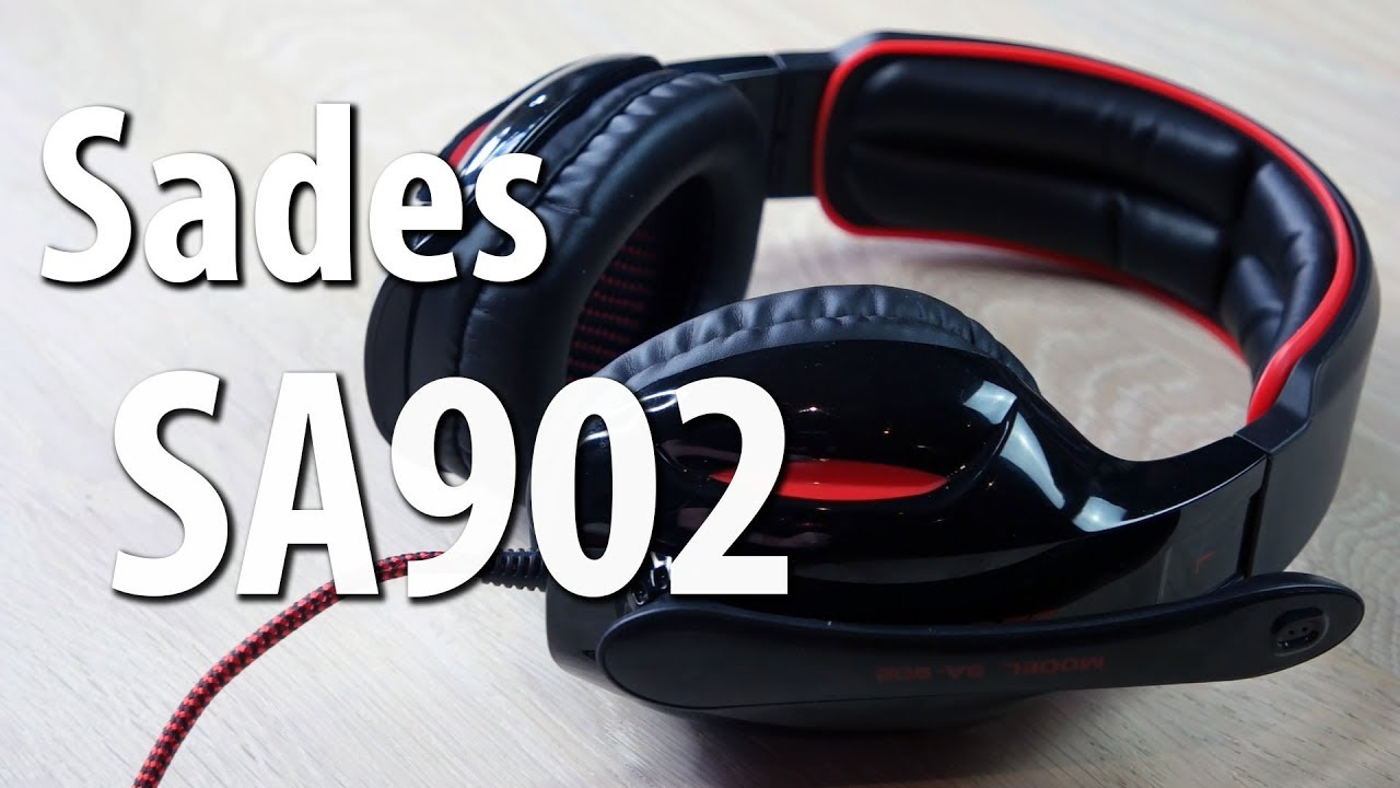 sades sa902 gaming headset g nstiges einsteiger usb