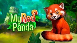 My Red Panda Забавный симулятор ухода за животными Детское Видео Игровой Мультик Обзор Игры