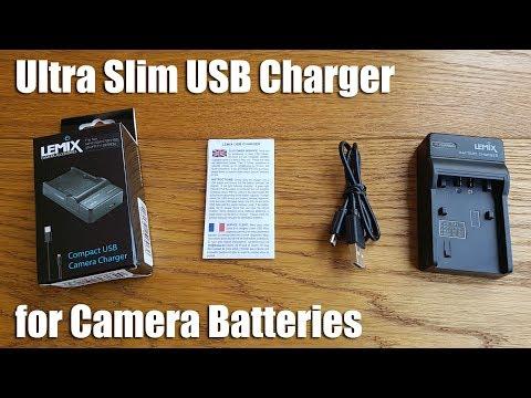 Lemix (FV50) Ultra Slim USB Charger For Sony NP-FV50 (FH/FP/FV SERIES)
