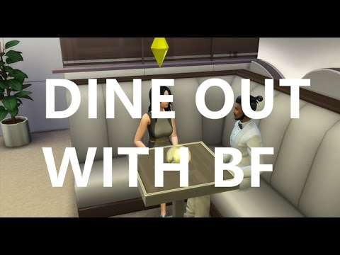 Ep7 DINE OUT WITH BF | The Sims 4 | City Living | Dine Out | Game Play |