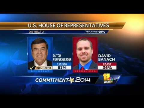 Md. U.S. House seats stay majority Democrat