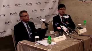 2014 Economic Freedom of the World Index Report & Hong Kong Protests Press Conference