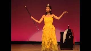 説明 ミュージカルマジシャンTOMOKOの」ステージマジックのPV作ってみま...