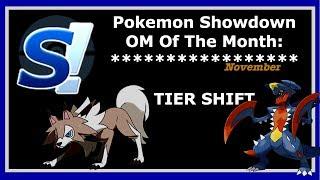 Pokemon Ultra Sun & Moon Showdown OM of the Month: TIER SHIFT!