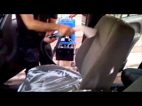 جهاز غسيل فرش السيارات بالرغوة Youtube