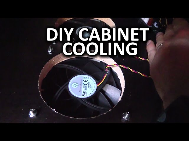 Build Some Fans Into Your Entertainment Center for Better Cooling