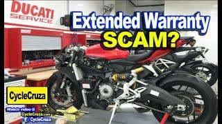 Motorcycle Extended Warranty a SCAM?