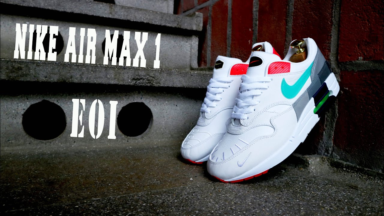 Nike Air Max 1 Evolution of Icons unboxing and on foot Kix Fix
