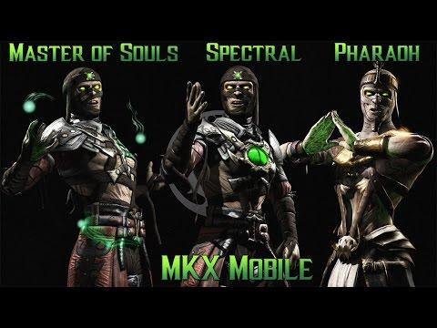 MKX Mobile - FW - 3xErmac - Pharaoh, Master of Souls, Spectral