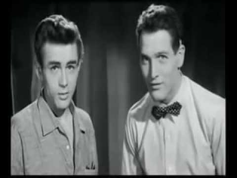 AUDITION TAPE: James Dean & Paul Newman audition for East of Eden