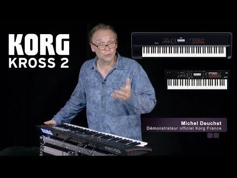 KORG : La Workstation KROSS 2 par Michel Deuchst (vidéo de la boite noire)