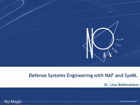 Defense Systems Engineering with NAF and SysML Webinar