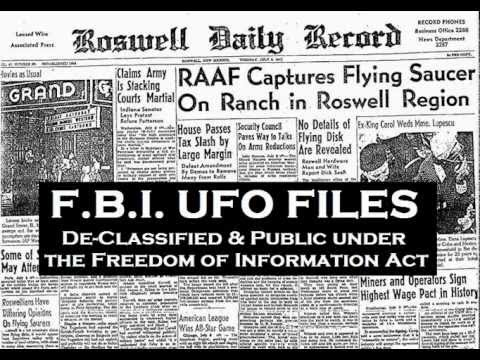 Formerly Classified FBI UFO Files - FULL Audio Book - Unidentified Flying Objects