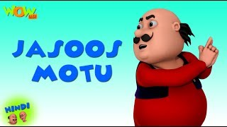 Jasoos Motu - Motu Patlu in Hindi - 3D Animation Cartoon - As on Nickelodeon