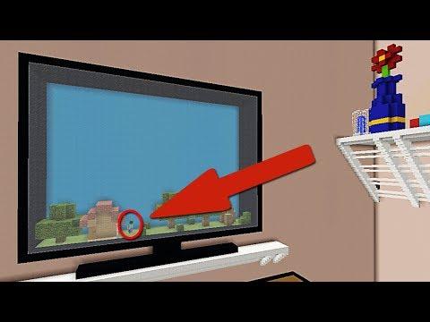 JUGANDO DENTRO DE UN TELEVISOR EN MINECRAFT | MINECRAFT MAPAS