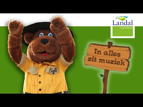 Bollo de beer in alles zit muziek - Kinderliedjes peuters en kleuters | Landal GreenParks