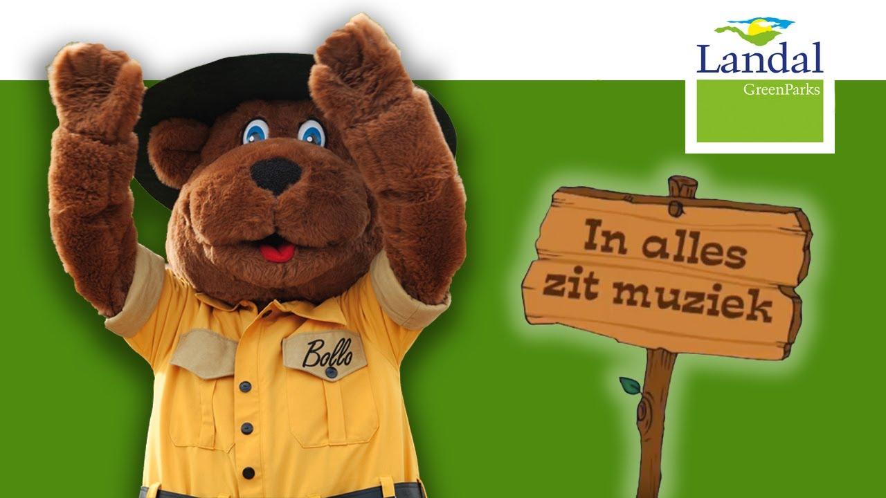 Extreem Bollo de beer in alles zit muziek - Kinderliedjes peuters en &LK05