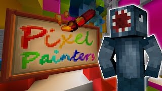 Minecraft - Hypixel - Pixel Painters NEW MINI GAME!