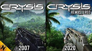 Crysis Remastered vs Original | Direct Comparison