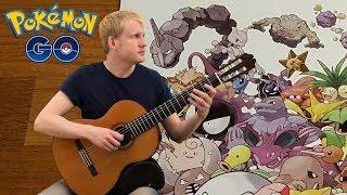 Pokémon Go - Map Theme (Acoustic Classical Guitar Fingerstyle Cover)