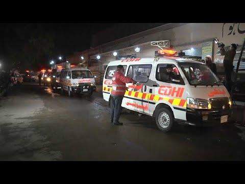 فيديو: مقتل 27 شخصا في ارتطام حافلة بناقلة نفط بباكستان  - نشر قبل 2 ساعة