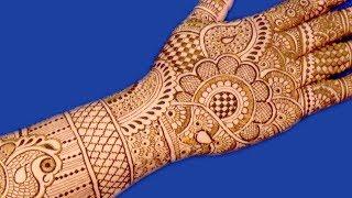 Rakhi Special Very Pretty Mehndi Design For Hands | New Bridal Mehndi Design @ ekunji #105