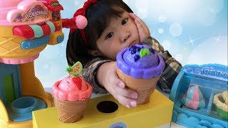 アイス屋さんごっこ おもちゃ お店屋さんごっこ Ice Cream Toys