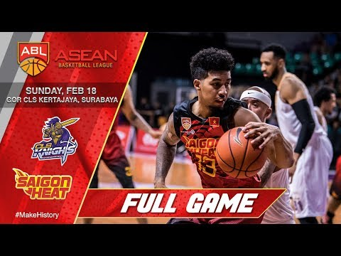 CLS Knights Indonesia vs Saigon Heat | FULL GAME | 2017-2018 ASEAN Basketball League Mp3