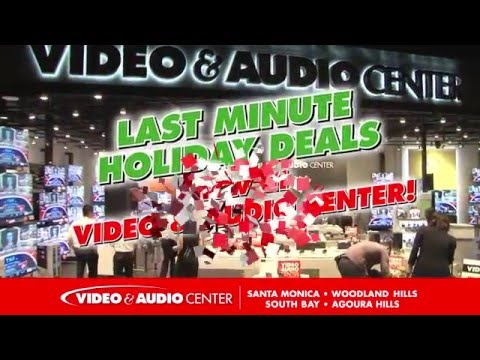 Last Minute Holiday Deals NOW at Video & Audio Center!