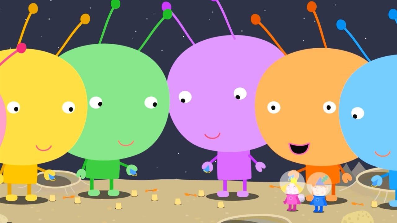 Ben y Holly en Español 🚀🌙 Un Picnic en la Luna 🌙🚀 Dibujos Animados Divertidos para Niños