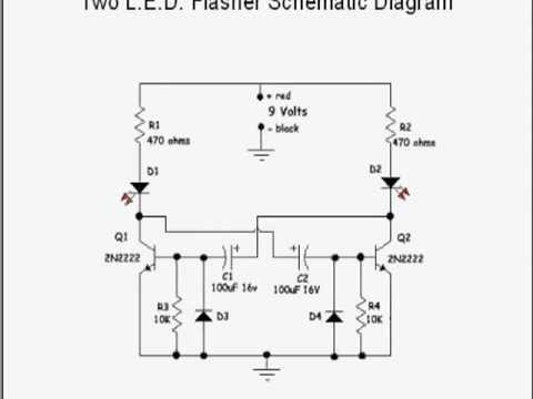 Build A Light Emitting Diode Flasher