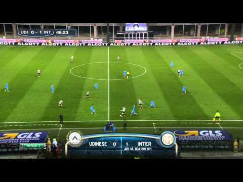 Stagione 2014/2015 - Udinese vs. Inter (1:2)