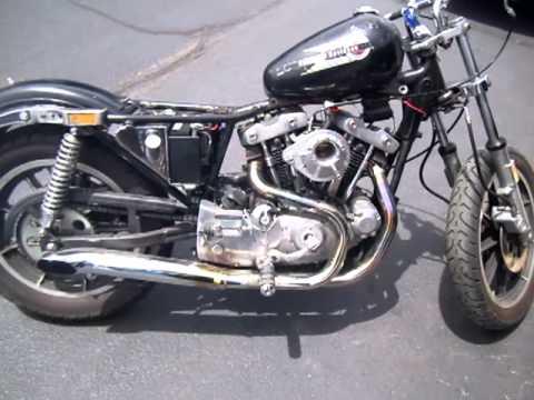 1979 XLH Harley Davidson Ironhead Sportster After Carb Rebuild