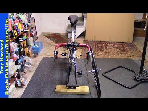 DIY Bicycle Fork Mount Storage