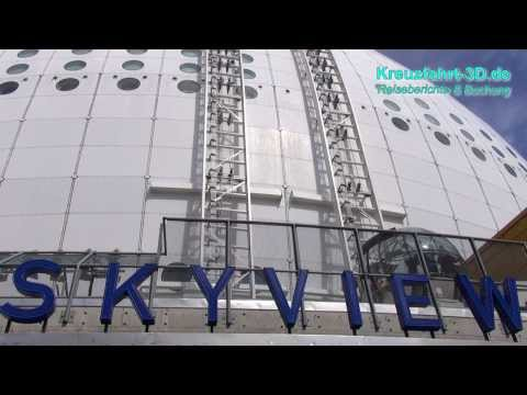 Highlights SkyView Ericsson Globe Stockholm (Schweden/Sweden/Sverige) - HD / 2D