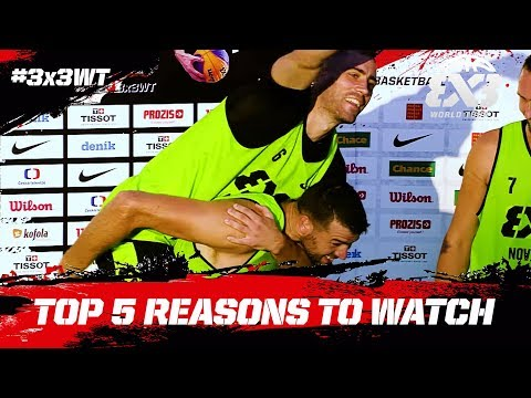Top 5 Reasons to Watch! | FIBA 3x3 World Tour 2018 - Hyderabad Masters