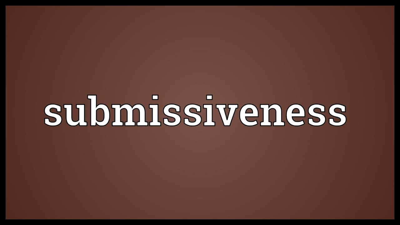 Submissive Meaning In Hindi