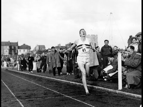 Bannister recalls the day he conquered the four-minute mile