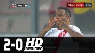 Peru vs Escocia 2-0 RESUMEN GOLES Amistoso Internacional [Friendly Match] 2018