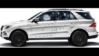 Bulletproof Car Amazing Cars Glass Testing With Ak47 2016 New