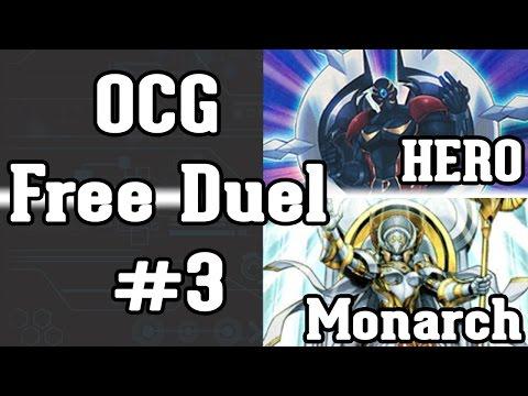 [Yu-Gi-Oh!] OCG Free Duel #3 (HEROs VS Quantum Monarchs)