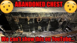 SHOCKING FIND! ABANDONED CHEST/MYSTERY BOX FOUND IN ABANDONED HOUSE! We can't show this on YouTube..